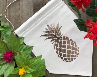 Pineapple Wall Banner/Pennant