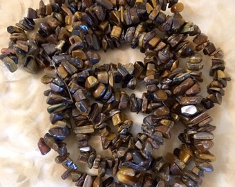 Chip Tiger Eye- Natural
