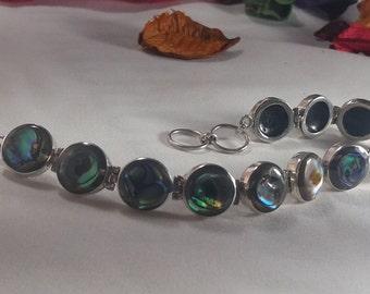 Pulsera en Plata 925 y gemas/ Silver 925 and gems bracelet
