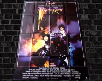 vtg Fr poster PURPLE RAIN-Prince