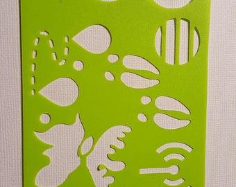 Moose tracks Stencils for bullet journal bujo planner