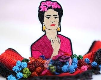 Frida Kahlo Patch - Frida Iron On Patch