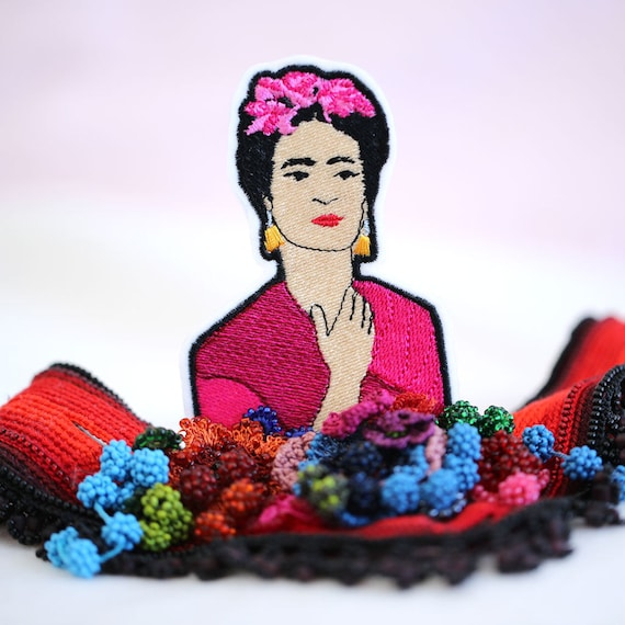 Frida Kahlo Patch - Frida Iron On Patch