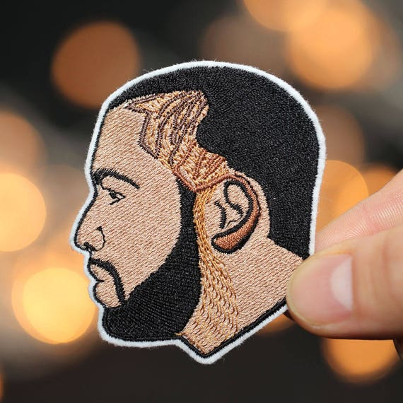 Drake Patch - Iron-On- Embroidery Patch