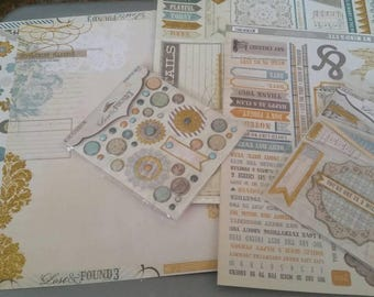 Lost & found MME scrapbook kit