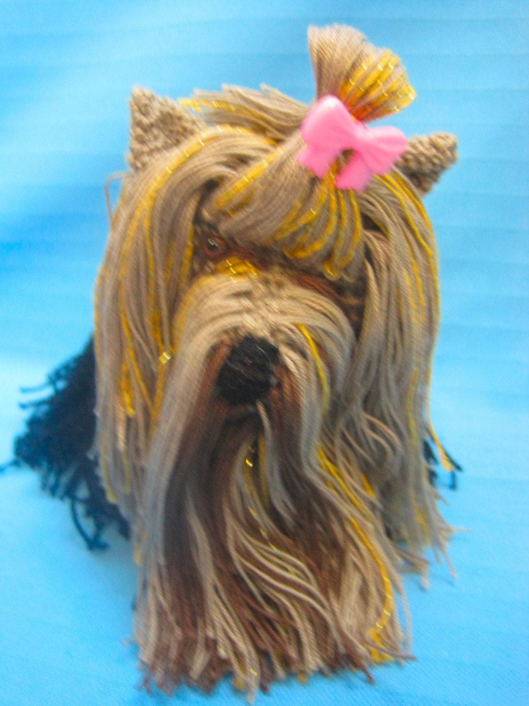 Amigurumi Yorkie : Amigurumi Yorkshire Terrier Yorkie Puppy Dog by ...