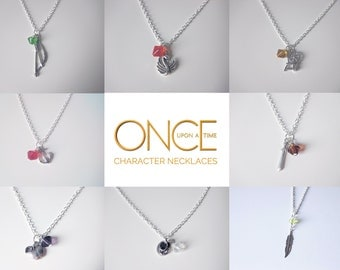 Once Upon a Time Character Necklaces