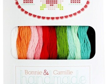 Bonnie and Camille Handmade floss collection from Cosmo/lecien 12 skeins, 100% cotton