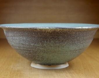 Large Ceramic Bowl Handmade in Stoneware, Centrepiece, Pottery Bowl, Fruit Bowl, Serving Bowl, Large Bowl