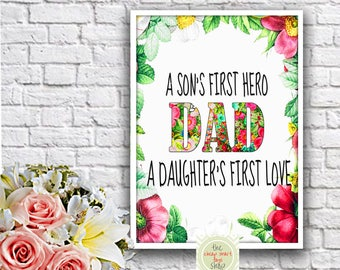 Dad's gift Digital print Printable gift Fathers'day gift Dad's prints Printable dads gift Dads birthday gift Father's day gift Dads day gift