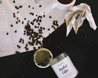 Hazelnut Coffee Soy Candle Handmade Candle -- Candles with Purpose