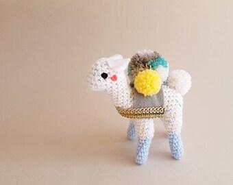 Miniature Animal Doll | #TinyHoof: Freckles the Alpaca