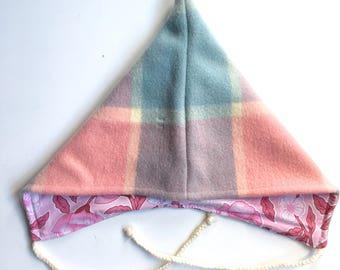 3-5 years pixie hat vintage wool blanket upcycled winter hat