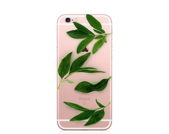 iPhone 7 case clear, iphone 5s case clear, iphone se case clear, iphone case clear with design, iphone leaves case, abstract iphone case,