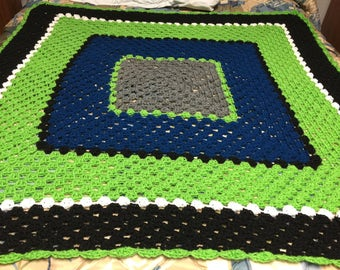 Square Dance Afghan