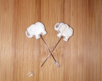 Elephant Counting Pins - Set of 2
