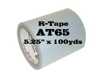 """RTape AT65 Clear Transfer Tape 5.25"""" x 100 yards"""