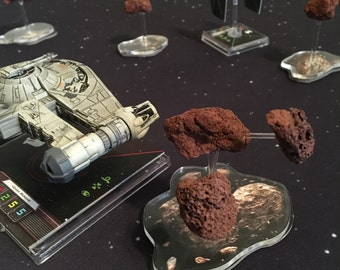 Miniature Asteroids - Designed for Star Wars: X-Wing