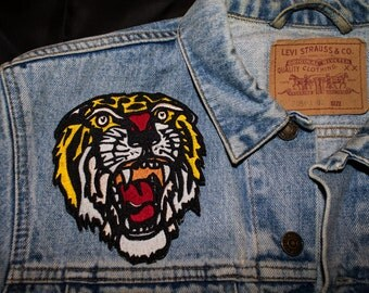 TIGER/TIGRE Sailor Jerry old school Iron Patch