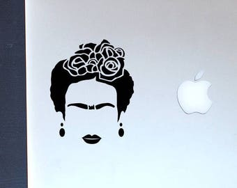 Frida Kahlo with love Vinyl Decal - Stickers - Car decal - laptop sticker