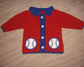 Baseball Sweater! Boys or Girls