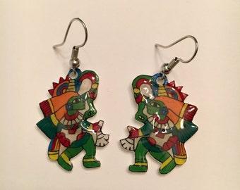 Quetzalcoatl Earrings
