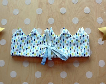 Textile and reversible Crown for child