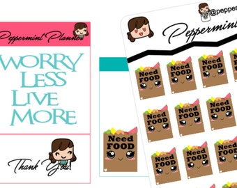 Need Food planner Stickers {#208}