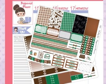 H Weekly Planner Stickers, Football Weekly Stickers #30