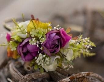 Flower headband, hairband