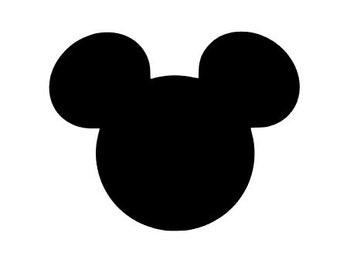 Mickey head decal