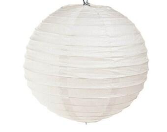Paper Lantern: White - 8 inches
