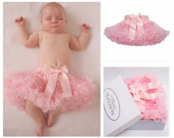 Pale Pink Sparkly Baby Tutu