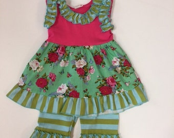 Spring Vintage Rose 2 pc outfit