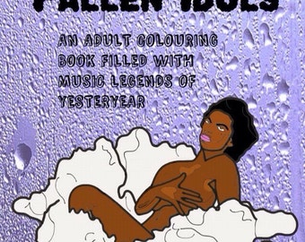 Fallen Idols Adult Colouring Book / Adult Coloring Book