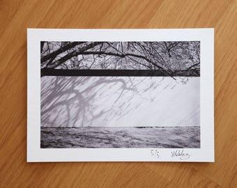 Roath Flood Defence Scheme Limited Edition Signed A5 Fine Art Print