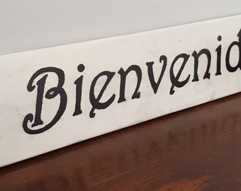Bienvenido - Spanish Sayings and Quotes - Spanish signs - Welcome signs in Spanish - Gift- Home and living-Black Friday
