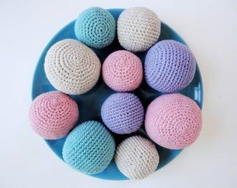 Crochet stress ball Etsy