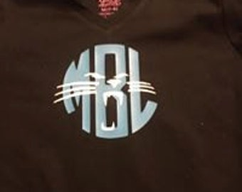 Vinyl Panthers Shirts. panthers, monogram, sports, team