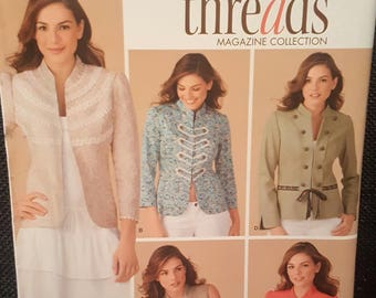 Simplicity Paper Pattern - 4129 - Misses' Lined Jackets and Vests