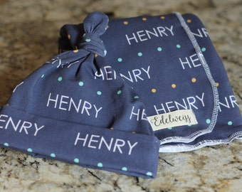 """The """"Henry"""" Blanket PERSONALIZED"""