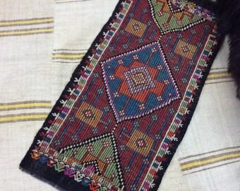 Cicim kilim rug, anatolian turkish rug, handmade rug, bohemian home, turkish cicim 105/52 cm