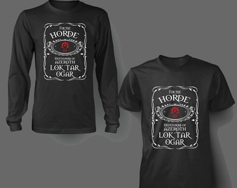 For the Horde T Shirt