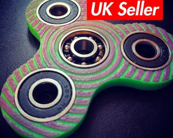 Fidget spinner toy - duo CUSTOM colours / edc spinner / stress toy / spin toy / vortex spinner / everydaycarry