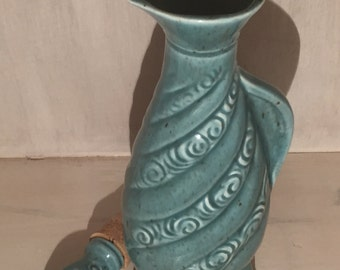 Vintage Turquoise 1966 James B. Bean Decanter