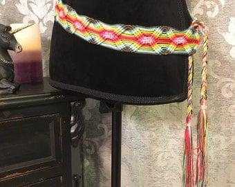 Rainbow Rope Belt