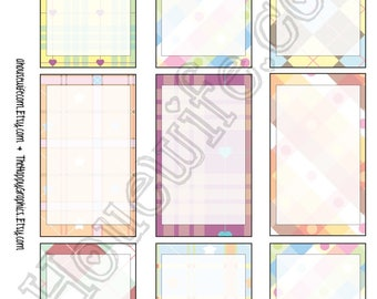 Happy Planner stickers [265] , Full box, A5 PDF, Instant download