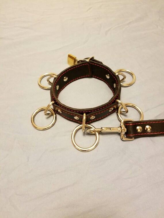 Bdsm locking collar