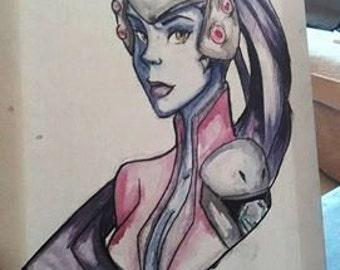 Widowmaker Overwatch unique painting