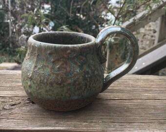 Handmade Slip-trailed Mug